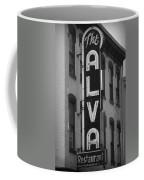 The Alva - Black And White Coffee Mug