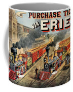 The American Railway Scene  Coffee Mug by Currier and Ives