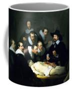The Anatomy Lesson Coffee Mug