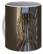 The Angel Of Bargoed Abstract Coffee Mug