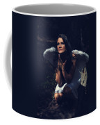 The Angel Prayed Coffee Mug by Laurie Search
