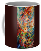The Angels On Wedding Triptych - Center Coffee Mug