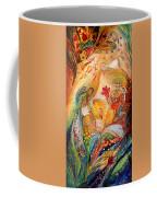 The Angels On Wedding Triptych - Left Side Coffee Mug