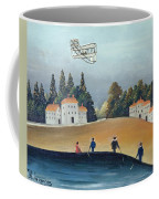 The Anglers, C.1908-09 Oil On Canvas Also See 309520 Coffee Mug