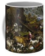 The Animals Entering Noah's Ark Coffee Mug