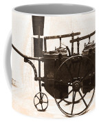 The Antique Farming Machine  Coffee Mug
