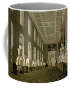 The Antiquities Gallery Of The Academy Of Fine Arts, 1836 Oil On Canvas Coffee Mug