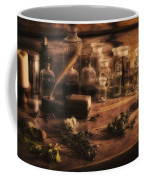The Apothecary Coffee Mug by Priscilla Burgers