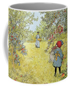 The Apple Harvest Coffee Mug by Carl Larsson