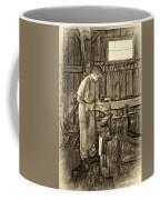 The Apprentice - Paint Sepia Coffee Mug