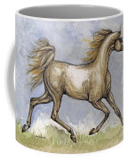The Arabian Mare Running Coffee Mug