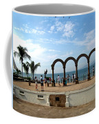 The Arches On The Playa Coffee Mug