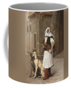 The Arnaut With Two Whippets Coffee Mug