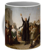 The Arrival Of The Pilgrim Fathers Coffee Mug