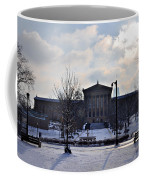 The Art Museum In The Snow Coffee Mug by Bill Cannon