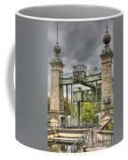The Art Nouveau Ships Elevator - Portal View Coffee Mug
