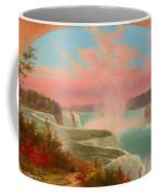 The Artist At Niagara Coffee Mug