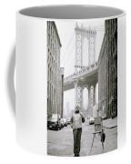 The Artist In New York Coffee Mug