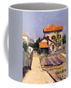 The Artists House At Yerres Coffee Mug