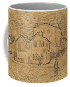 The Artists House In Arles Coffee Mug by Vincent Van Gogh