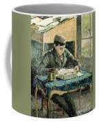 The Artists Son Coffee Mug by Camille Pissarro