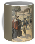 The Assassination Of The Empress Coffee Mug by French School