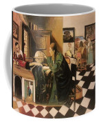 The Astrologer In The Golden Ratio Coffee Mug