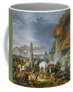 The Attack And Taking Of Ratisbon, 23rd April 1809, 1810 Oil On Canvas Coffee Mug