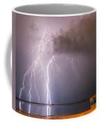 The Attack On Crystal Beach Coffee Mug