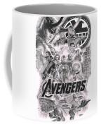 The Avengers Coffee Mug