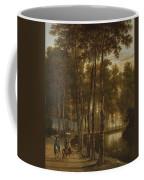 The Avenue Of Birches Coffee Mug