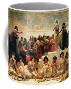 The Babylonian Marriage Market, 1875 Coffee Mug by Edwin Longsden Long