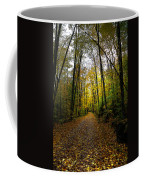 The Back Roads Of Autumn Coffee Mug by David Patterson