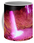 The Backside Of Little Pony Falls  Coffee Mug