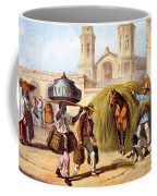 The Baker And The Straw Seller, 1840 Coffee Mug