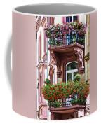 The Balcony Flowers Coffee Mug