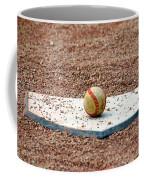 The Ball Of Field Of Dreams Coffee Mug by Susanne Van Hulst