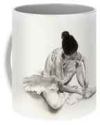 The Ballet Dancer Coffee Mug by Hailey E Herrera