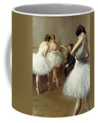 The Ballet Lesson Coffee Mug