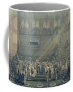 The Baptism Of The King Of Rome 1811-32 At Notre-dame, 10th June 1811, After 1811 Engraving Coffee Mug