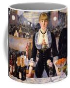 The Bar At The Folies-bergere Coffee Mug
