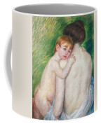The Bare Back Coffee Mug by Mary Cassatt Stevenson