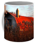 The Barn  At Sunset Coffee Mug