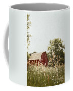 The Barn In The Distance Coffee Mug