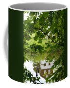 The Barn In The Water Coffee Mug