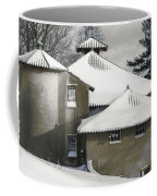 The Barns At Castle Hill After The Snow Coffee Mug