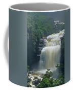 The Base Of Angel Falls In Canaima National Park Venezuela Coffee Mug