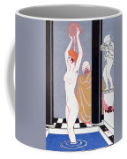 The Basin Coffee Mug by Georges Barbier