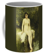 The Bather Coffee Mug by Leon Bazile Perrault
