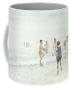 The Bathers Coffee Mug by Edward van Goethem